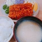 とんかつ高田 - ヒレかつ定食