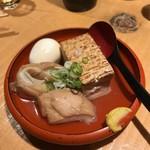山さん - 焼き豆腐、たまご、くるま麩