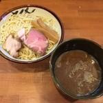 麺屋 清水 - 魚介つけ麺(780円)