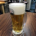すばる - 「生ビール」350円也。