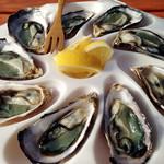 多国食彩ウフ - 広島・大崎上島「ファームスズキ」の牡蠣。