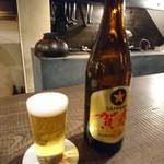炭焼 芹生 - 札幌謹賀ビール