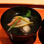 いち太 - 松葉蟹の真丈のお椀