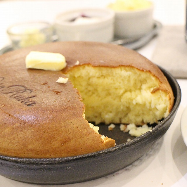 パンケーキお替り自由!! 絵本「ぐりとぐら」厚焼きパンケーキは