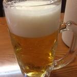 吉田飯店 関内店 - 生ビール(^∇^)