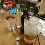 大衆酒場 よっちゃん - コーヒー焼酎+黒ハッピー