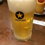 四文屋 - 生ビール