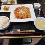 唐苑 - 料理写真:油淋鶏 定食1