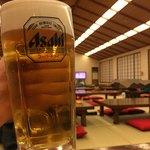 弘法の里湯 食事処 - ドリンク写真:生ビール550円