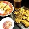 岳 - 料理写真:餃子・ホルモン天ぷら♡
