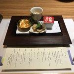 ホテル鴎風亭 - 前菜