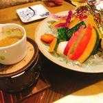ハミルトン アール - 彩り野菜のバーニャカウダ