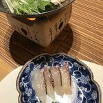 ホテル鴎風亭 - 鯛しゃぶ