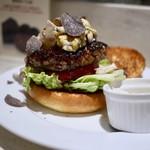 ダルマット - A5和牛と黒トリュフのハンバーガー