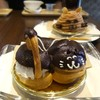 猫衛門 - 料理写真:黒シマ猫のエクレア♡