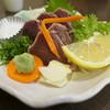 ろばた焼 仙樹 - 料理写真:カツオ生 塩タタキ
