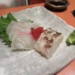 79082230 - 「真鯛の刺身」(¥780)