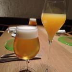 LIAISON - ビールとカクテルで乾杯