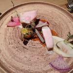 LIAISON - 茶美豚ロース肉のロティ ブール・ノワゼット