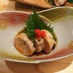 あさひ鮨 - アン肝酢(800円)