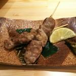 あさひ鮨 - マグロすじ焼き(500円)