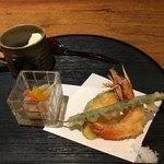 79083753 - 天ぷら、南蛮漬け、自家製豆腐