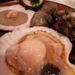 北本の貝や。 -
