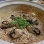 牡蠣と魚 海宝 - 牡蠣の土鍋ご飯
