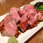 ガルニ - 赤城牛のローストビーフ (780円)