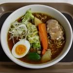 カレーワールド - 料理写真:スープカレーラーメン(680円)