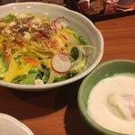 豊後鳥一 - 2017年1月5日  オリジナルサラダ