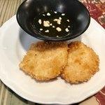 コカレストラン&マンゴツリーカフェ - エビのすり身揚げ