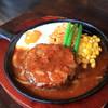 マッシュポテト - 料理写真:和牛ハンバーグ 180g