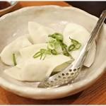 浪曼房 - 水餃子 500円 分厚い皮が特徴的。