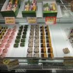 和菓子 なごし - 生大福のショーケース