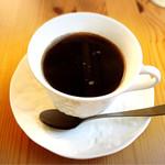 パスタ ダイニング ヨロコバ ショクドウ - フレンチプレスで淹れたコーヒー