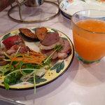 7909061 - アンティパスト+野菜ジュース
