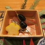日本料理 太月 - 30年1月 数の子、黒豆、慈姑、田作り
