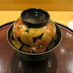 日本料理 太月 - 30年1月 塗り椀