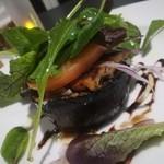 グランドホテル 六甲スカイヴィラ - 米ナスとトマトと穴子 ジューシーでボリューム満点