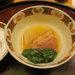日本料理 太月 - 30年1月 聖護院蕪、合鴨治部煮 小松菜