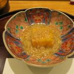 日本料理 太月 - 30年1月 玉子揚げ出し 松葉蟹餡