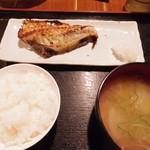 中村橋の漁師のあぶり家 - 赤魚の粕漬け焼き 741円