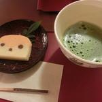 台の茶屋 - お臼と菓子