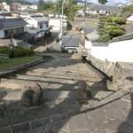台の茶屋 - 杵築町並み