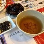水源茶屋 - ソバ茶