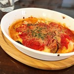 ポケット - 茄子とトマトのぐつぐつチーズ焼き