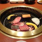 清香園 - ◆焼いてまーす。