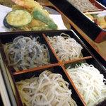 更科 - 料理写真:4色蕎麦