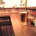 湘南酒場 - なんともいえない空間。お店の人はかなり気を使ってくれる。